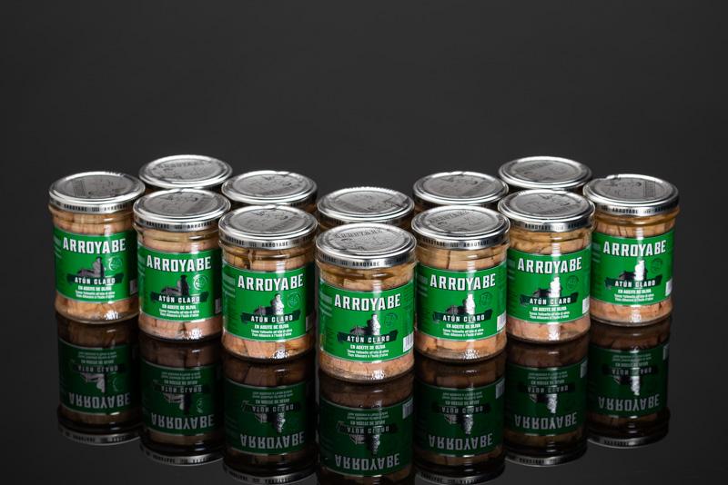 Filetto di tonno Yellofin in olio oliva arroyabe - 12 vasi